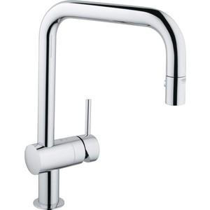 Смеситель для кухни Grohe Minta (32322000) клапан обратный канализационный наружный 110 мм