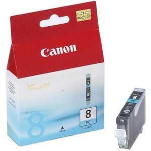 Картридж Canon CLI-8PC cyan (0624B001) картридж для струйного принтера canon cli 426c cyan