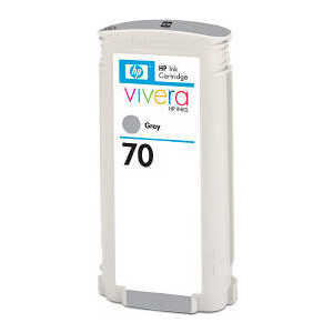 Картридж HP 70 130ml grey (C9450A) картридж hp pigment ink cartridge 70 gray z3100 c9450a