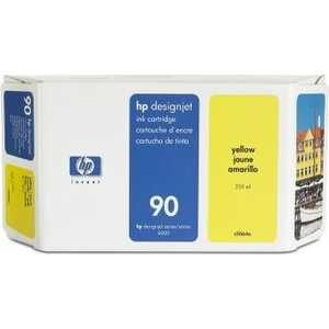 Картридж HP 90 400ml yellow (C5065A) картридж для принтера hp 90 c5064a yellow
