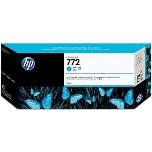 Картридж HP 772 300ml cyan (CN636A) hp 831 black cyan cz677a