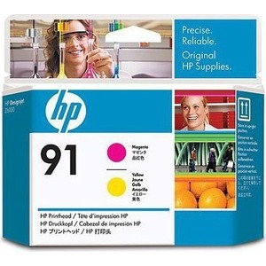 Печатающая головка HP № 91 magenta/ yellow (C9461A) hp 83 680ml magenta c4942a