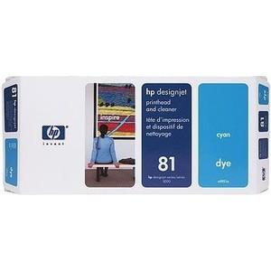 все цены на HP Печатающая головка 81 cyan (C4951A) онлайн