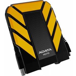 Внешний жесткий диск A-Data HD710 1Tb yellow (AHD710-1TU3-CYL) hdd a data hv100 1tb white