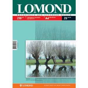 Lomond Бумага двухсторонняя глянцевая/матовая (0102021) бумага lomond a4 200г м2 глянцевая двухсторонняя 250л 0310341