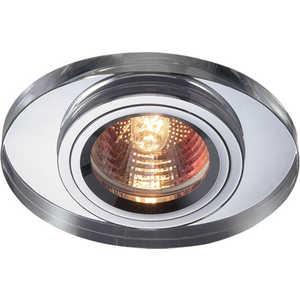 Точечный светильник Novotech 369437 встраиваемый точечный светильник коллекция mirror 369437 хром прозрачный novotech новотех