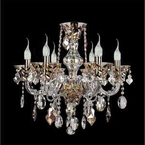 Lightstar 710062 люстра потолочная коллекция tesoro 710062 золото коньячный прозрачный lightstar лайтстар