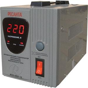 Стабилизатор напряжения Ресанта АСН-500/1-Ц стабилизатор напряжения ресанта асн 500 н 1 ц lux