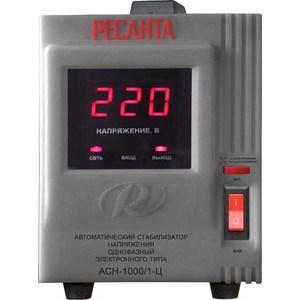 Стабилизатор напряжения Ресанта АСН-1 000/1-Ц стабилизаторы напряжения ресанта стабилизатор асн 8 000 1 ц ресанта