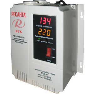 все цены на Стабилизатор напряжения Ресанта АСН-1 000 Н/1-Ц Lux онлайн