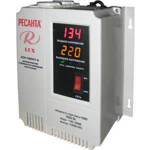 Стабилизатор напряжения Ресанта АСН-1 000 Н/1-Ц Lux стабилизатор напряжения ресанта асн 500 н 1 ц lux