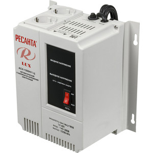 Стабилизатор напряжения Ресанта АСН-1 500 Н/1-Ц Lux стабилизатор напряжения ресанта асн 500 н 1 ц lux