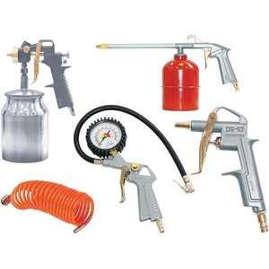Набор пневмоинструмента Fubag 5 предметов (120102) пневмопистолет для нанесения цементных растворов хопр в одессе