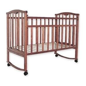 Кроватка Агат Золушка 1 (орех) 52101