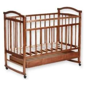 Кроватка Агат Золушка 2 (орех) 52101