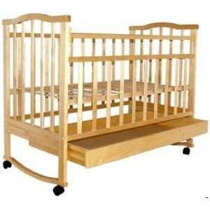 Кроватка Агат Золушка 2 (светлая) 52100