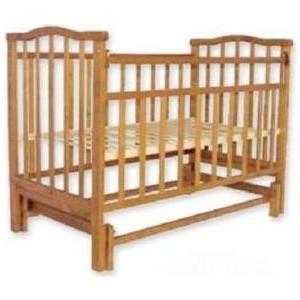 Кроватка Агат Золушка 3 (орех) 52101 кроватка агат золушка 5 орех 52101