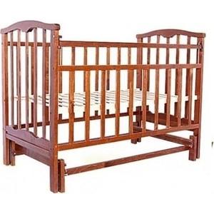 Кроватка Агат Золушка 3 (вишня) 52103 обычная кроватка агат 52100 золушка 3