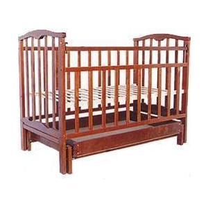 Кроватка Агат Золушка 4 (вишня) 52103 обычная кроватка ведрусс радуга 4 вишня