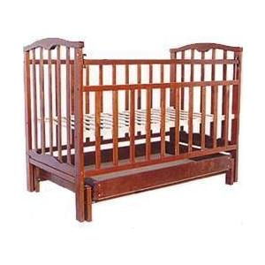 Кроватка Агат Золушка 4 (вишня) 52103