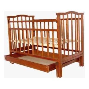 Кроватка Агат Золушка 4 (орех) 52101 кроватка агат золушка 5 орех 52101