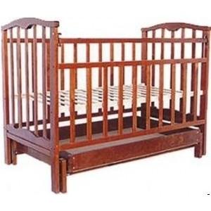 Кроватка Агат Золушка 6 (вишня) 52103 обычная кроватка агат 52103 золушка 3 вишня