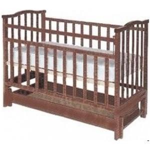 Кроватка Агат Золушка 6 (орех) 52101 обычная кроватка агат 52101 золушка 4 орех