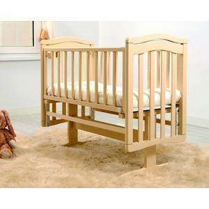 Кроватка-люлька Гандылян Лили поперечный маятник слоновая кость