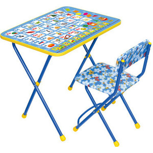 Фотография товара наборы детской мебели Ника ''Познайка КП2'' ''Азбука'' (128678)