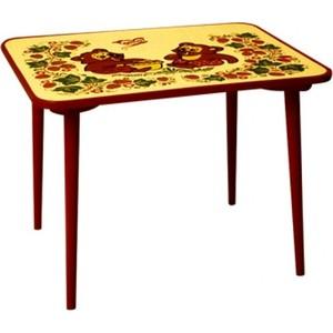 Фотография товара стол Хохлома с холодной росписью (8202) (128734)