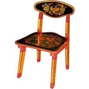 Стул Хохлома с художественной росписью H30 73770 столы и стулья хохлома стул детский с художественной росписью из массива