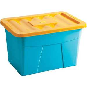 Фотография товара ящик Петропласт для игрушек на колёсах (600х400х360) 4312068 (128842)