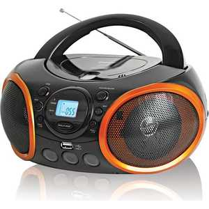 Магнитола BBK BX100U black/orange