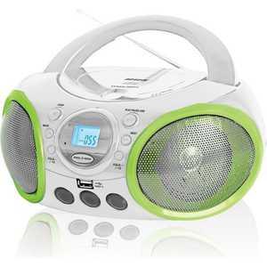 Магнитола BBK BX100U white/green