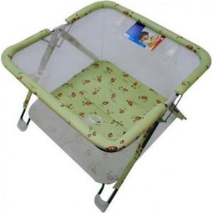 Манеж-кровать 4moms Breeze Blue