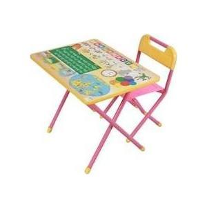 Фотография товара набор детской мебели Дэми ''Глобус'' складная (розовый) (129062)