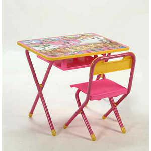 Набор детской мебели Дэми ''Веселые гномы'' складная (розовый)