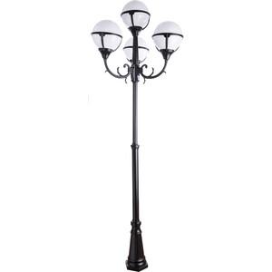 Уличный фонарь Artelamp A1497PA-4BK натура сиберика талассо обертывание холодное антицеллюлитное 500мл