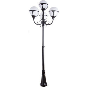 Уличный фонарь Artelamp A1497PA-4BK