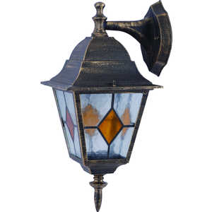 Уличный настенный светильник Artelamp A1012AL-1BN