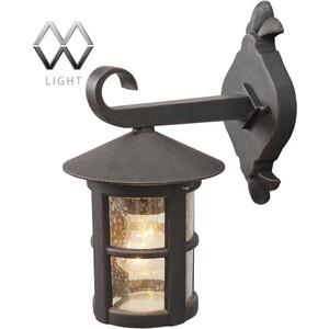 Уличный настенный светильник MW-LIGHT 806020101 лампы освещение