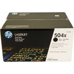 Картридж HP двойной Black (CE250XD) цена и фото