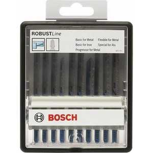 Набор пилок для лобзика Bosch 10шт по металлу Robust Line Metal Expert (2.607.010.541)