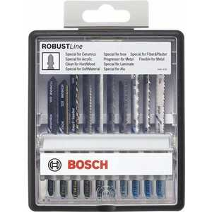 Набор пилок для лобзика Bosch 10шт Robust Line Top Expert (2.607.010.574)
