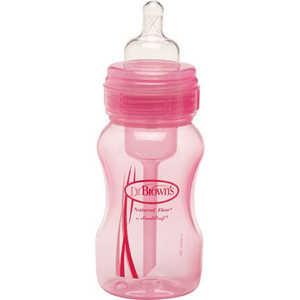 Бутылочка Dr. Browns 240мл (розовый) WB813
