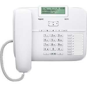 Фотография товара проводной телефон Gigaset DA710 White (131605)