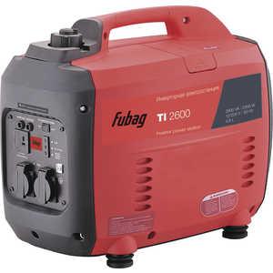 Генератор бензиновый инверторный Fubag TI 2600 бензиновый генератор fubag ti 1000