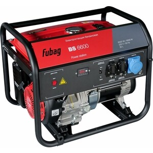 Генератор бензиновый Fubag BS 6600 бензиновый генератор fubag bs 3500 duplex