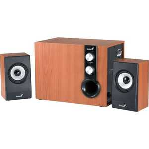 Колонки Genius SW-HF 1205 brown wood