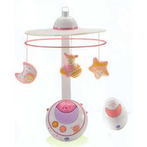 Chicco Мобиль ''Волшебные звёзды'' розовый (24291)